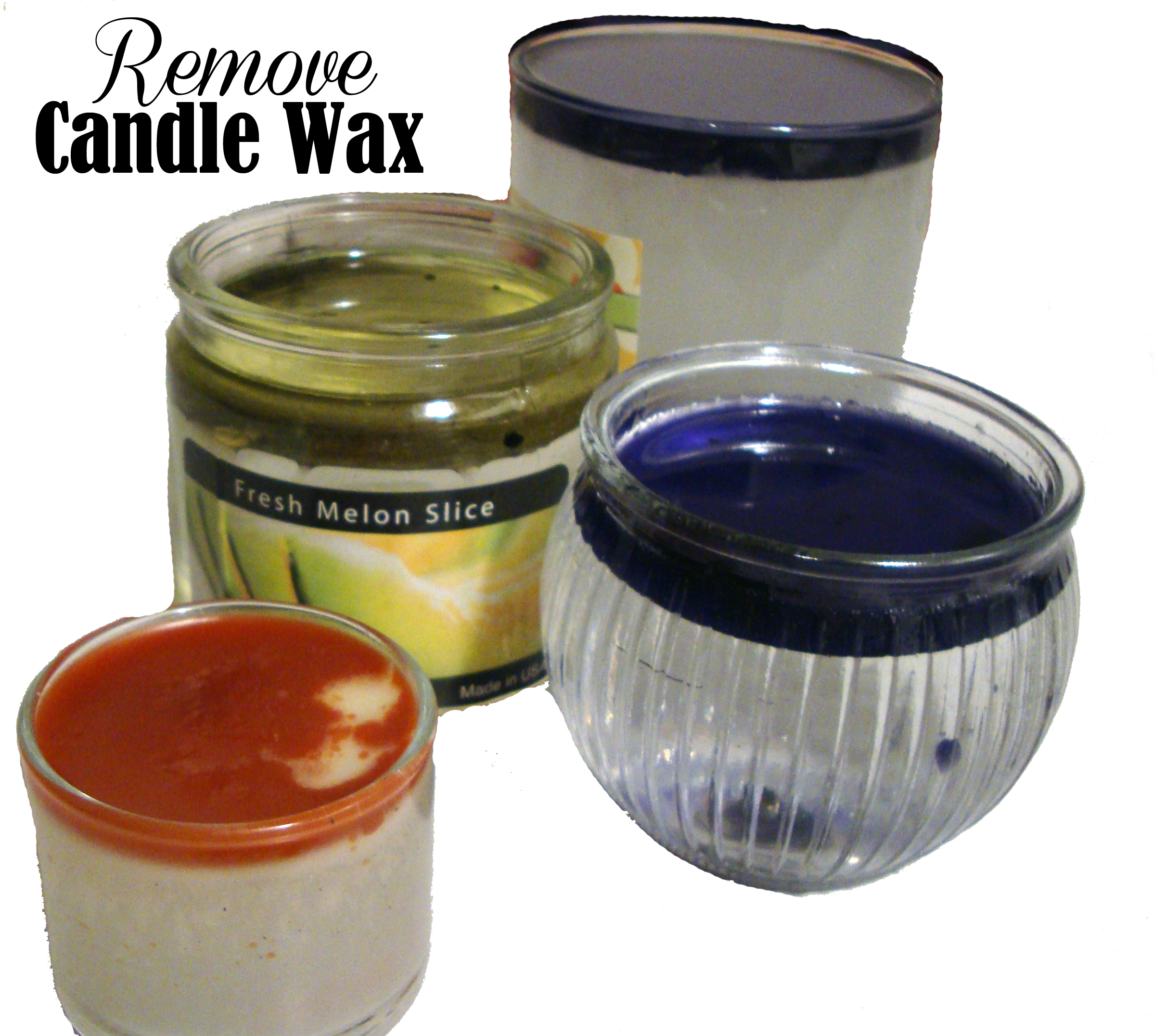 Removing Wax From Glass Candle Jars Quarter Past Normal