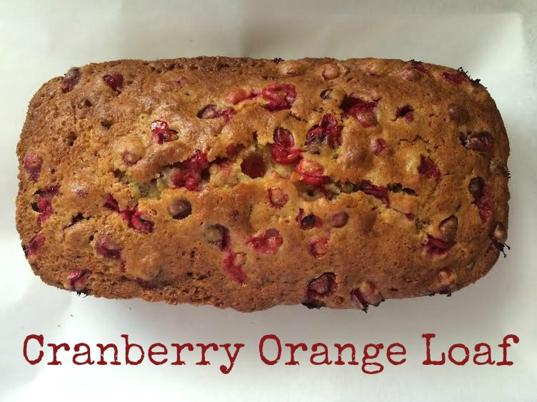 Cranberry Orange Loaf – Quarter Past Normal