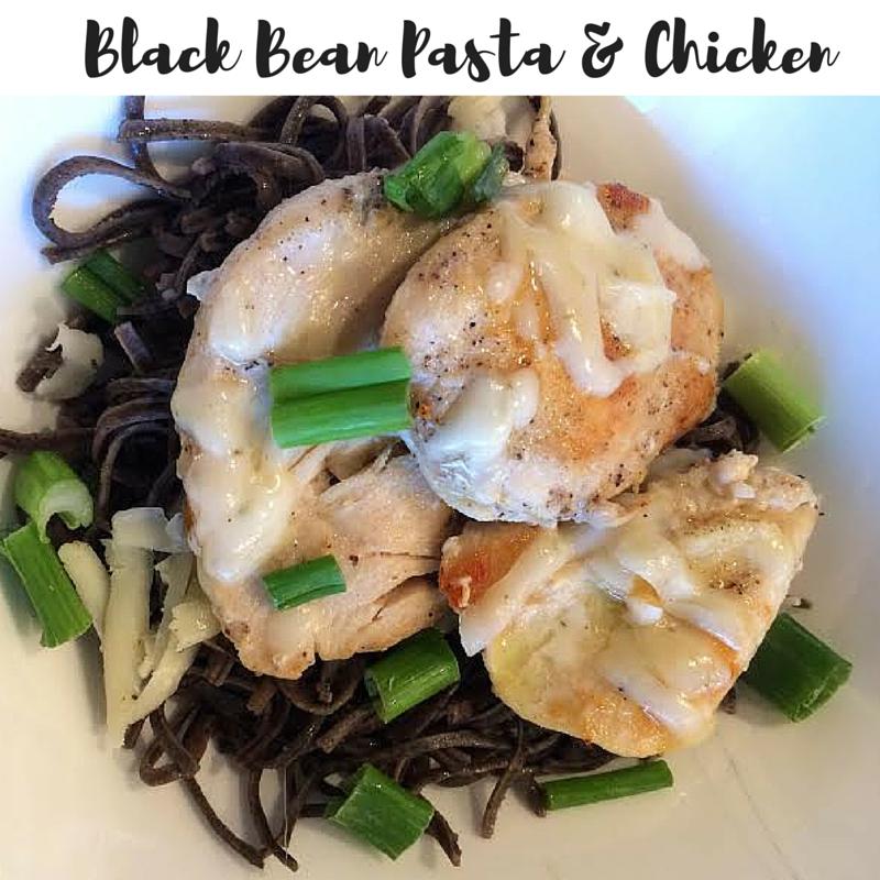 Black Bean Pasta with Chicken