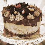 Creepy Crawly Cookies and Cream Cake